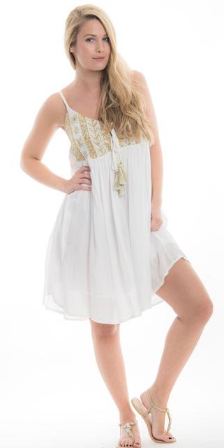 Camilla Dress White