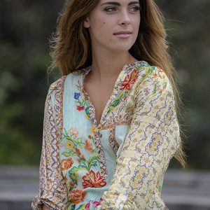 Wildfllower Silk Shirt Cienna