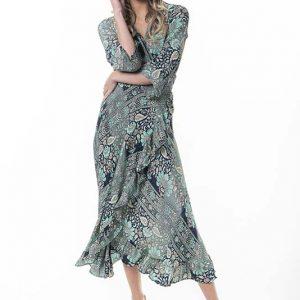 Aqua Bloom Dress