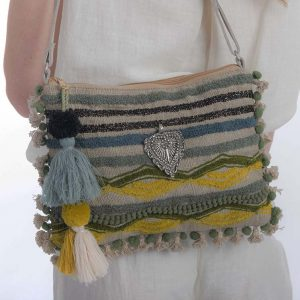Stripe Boho Bag