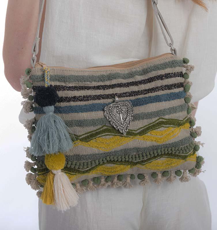 Stripe Boho Bag