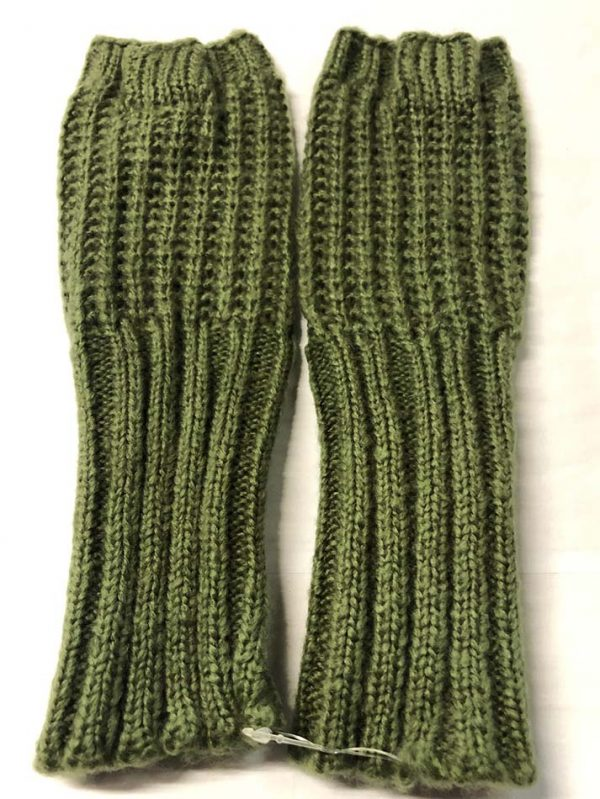 Fingerless Gloves Khaki