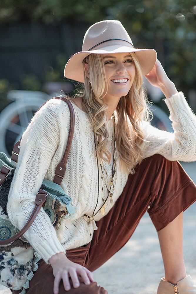 Fedora Wool Hat Camel