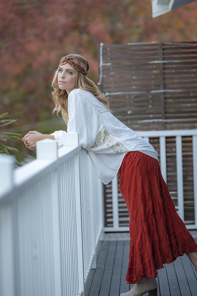 Nova Skirt Rust