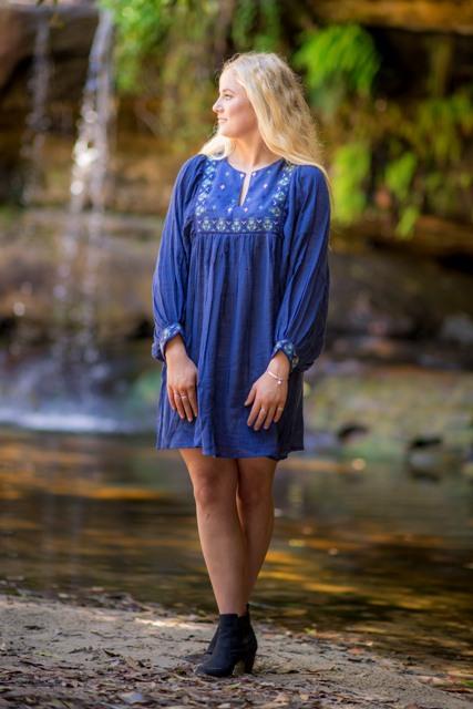 Kathy Tunic Navy