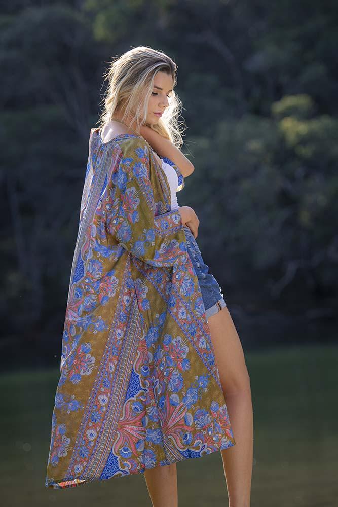 Ciara Kimono Olive